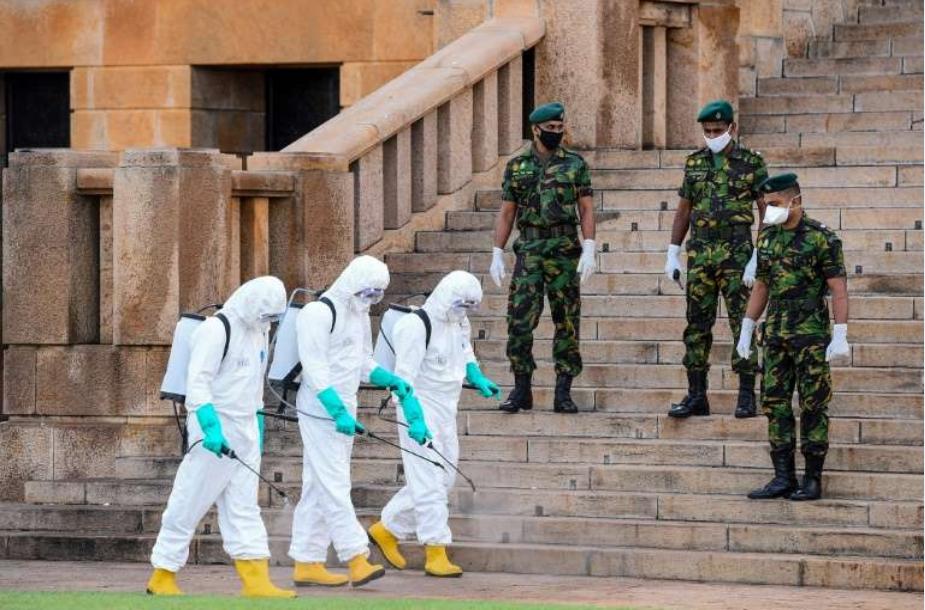 斯里兰卡将病毒死亡强制火化,激怒了穆斯林。